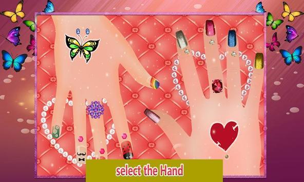 Shiny Nail Art Design Salon: Girl Manicure Parlour screenshot 1