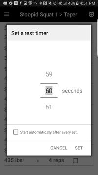 Smolov Calculator - Free apk screenshot