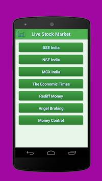 BSE NSE Live Market Watch poster
