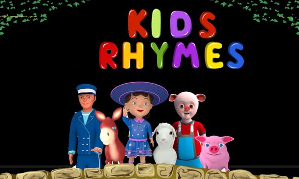 Ring Around the Rosie Rhymes poster