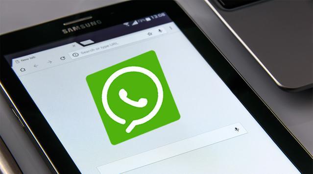 How get WhatsApp on tablet screenshot 2