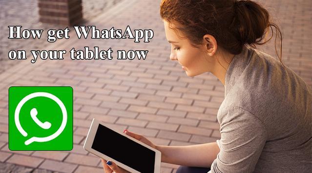 How get WhatsApp on tablet screenshot 6