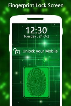 Fingerprint Lock Screen Security Prank apk screenshot