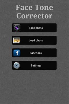 Free Face Tone Corrector screenshot 1