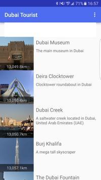 Dubai Tourist poster