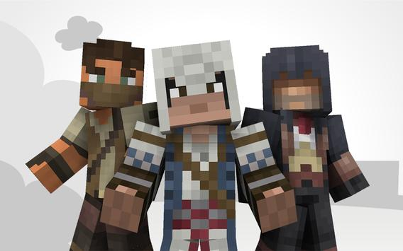 Assassin Skins For Minecraft APK Download Free Entertainment APP - Skin para minecraft pe de assassins creed