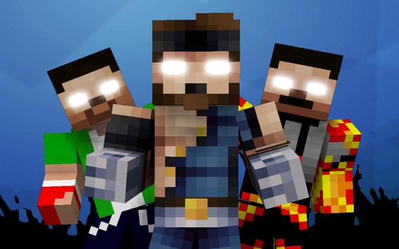 Skins Herobrine For Minecraft APK Download Free Entertainment APP - Skins para minecraft pe herobrine
