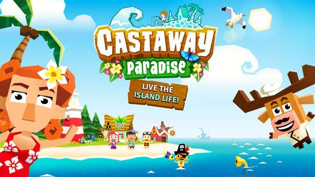 Castaway Paradise - Harvest, Animal Island Town apk screenshot