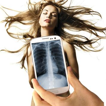 X-ray on Mobile Prank screenshot 1