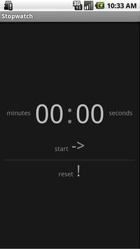 Simple Stopwatch Free poster