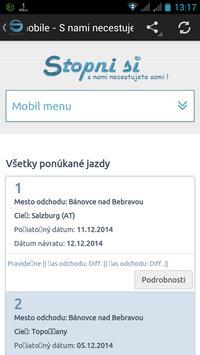 Stopnisi.sk screenshot 1