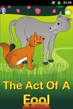 The Act of A Fool - Kids Story poster