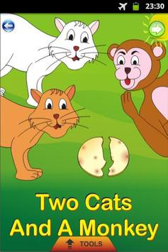 Two Cats and A Monkey - Story poster