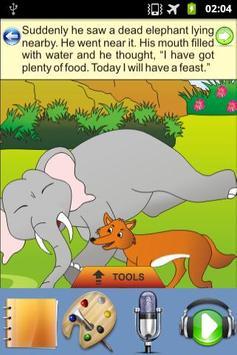 The Clever Fox - Kids Story apk screenshot