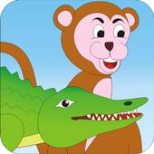 Crocodile and Monkey - Story icon