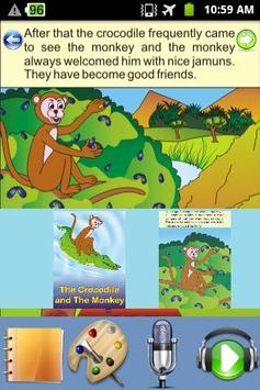 Crocodile and Monkey - Story poster