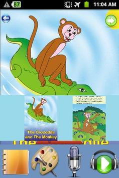 Crocodile and Monkey - Story apk screenshot