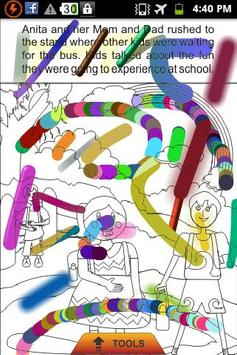 My First Day At School - Story apk screenshot