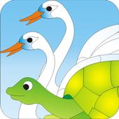 The Foolish Turtle -Kids Story icon