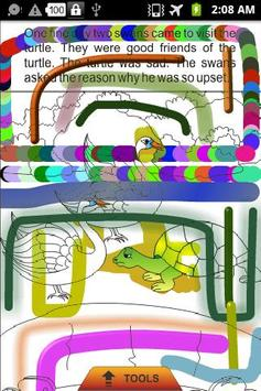 The Foolish Turtle -Kids Story poster