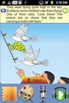 The Foolish Turtle -Kids Story apk screenshot
