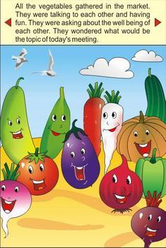 Mr Vegetable - Kids Story poster