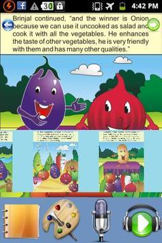 Mr Vegetable - Kids Story apk screenshot
