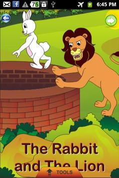 The Rabbit and the Lion -Story poster