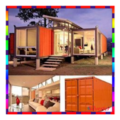 storage container houses icon
