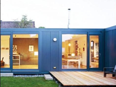 storage container houses poster