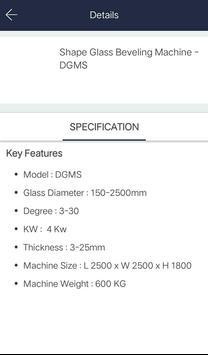 Dhanik Glass Machinery screenshot 3