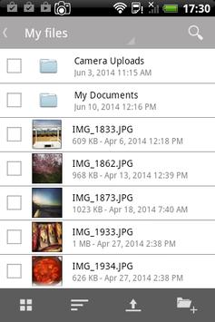 hol cloud storage apk screenshot