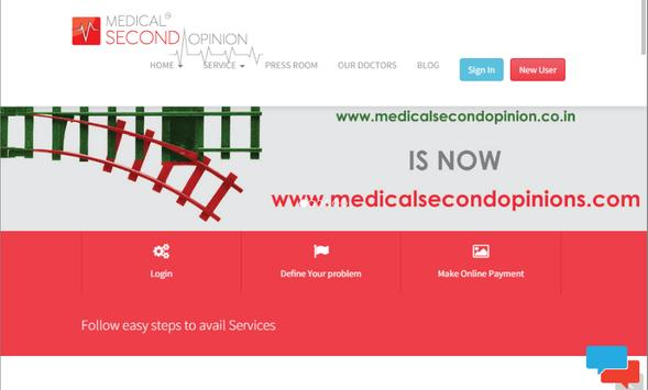 Medical Second Opinions (MSO) apk screenshot