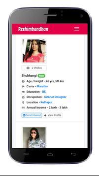 Reshimbandhan.com - Matrimonial App screenshot 1