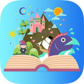 kids stories read to me free icon