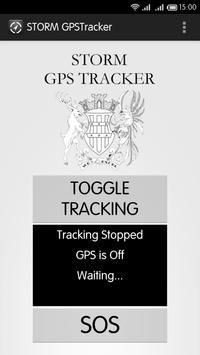 STORM GPSTracker poster