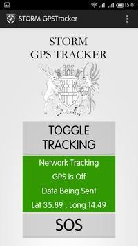 STORM GPSTracker apk screenshot