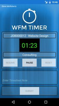 WFM Timer apk screenshot