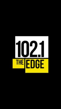 102.1 the Edge poster