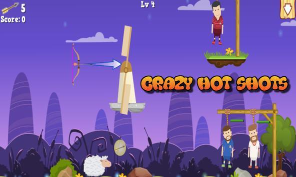 Crazy Hot Shots screenshot 1
