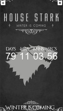 Countdown for GoT S6 (UK) poster