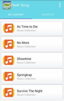 FNAF KIDS SONGS apk screenshot