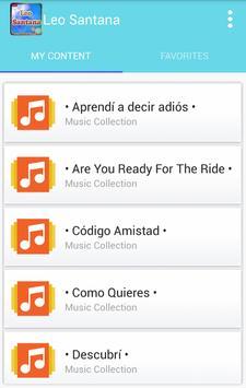 Leo SANTANA MUSIC apk screenshot