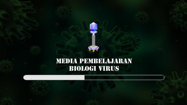 Media Pembelajaran AR Virus poster
