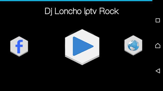 Dj Loncho radio poster