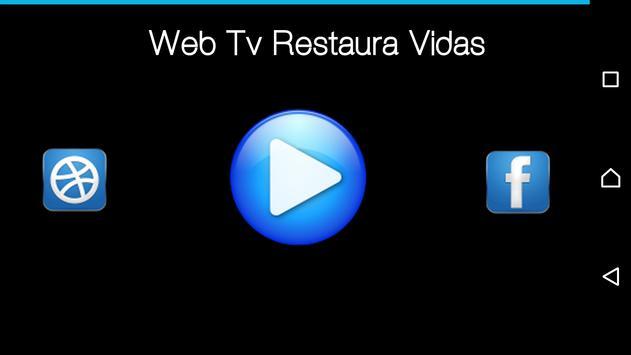 Web Tv Restaura Vidas poster