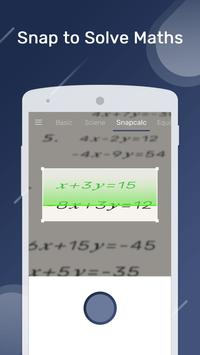 Smart Calculator – Take Photo to Solve Math 截圖 1