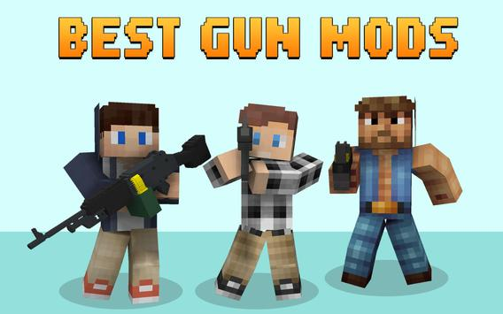 Gun Mods for Minecraft poster