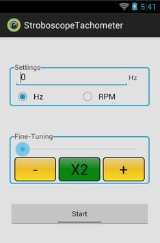 Strobe-Tachometer screenshot 3