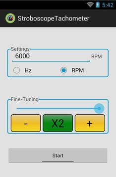 Strobe-Tachometer screenshot 1